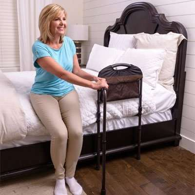 Stander Mobility Bed Rail With Swing Out Arm