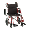 transport chair with hand brakes