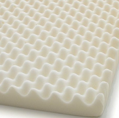 convoluted foam bed overlay