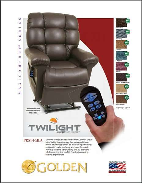 golden twilight cloud lift chair colorado at independently yours medical supplies